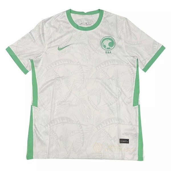 Maillot Foot Pas Cher Domicile Maillot Arabia Saudita 2020 Blanc