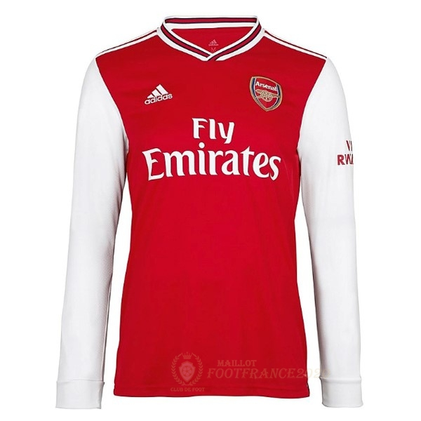Maillot Foot Pas Cher Domicile Manches Longues Arsenal 2019 2020 Rouge