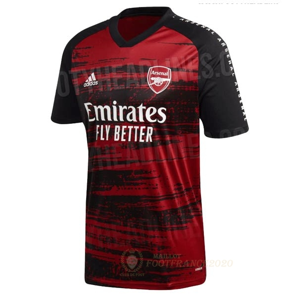 Maillot Foot Pas Cher Pre Match Maillot Arsenal 2020 2021 Rouge