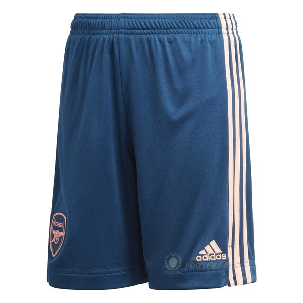 Maillot Foot Pas Cher Third Pantalon Arsenal 2020 2021 Bleu