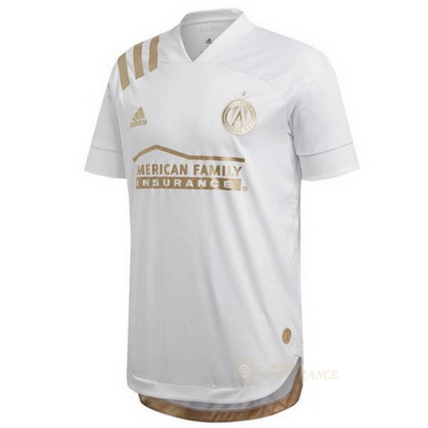Maillot Foot Pas Cher Exterieur Maillot Atlanta United 2020 2021 Blanc