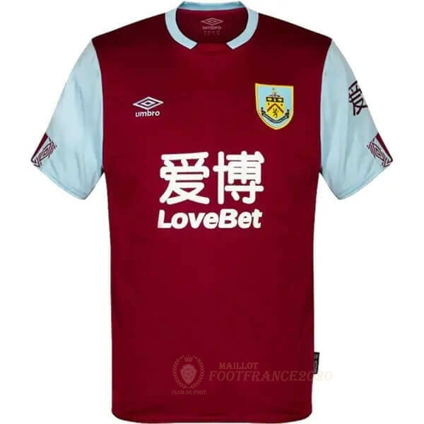 Maillot Foot Pas Cher Domicile Maillot Burnley 2019 2020 Rouge