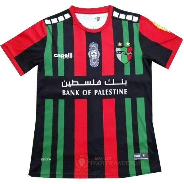 Maillot Foot Pas Cher Domicile Maillot CD Palestino 2019 2020 Noir