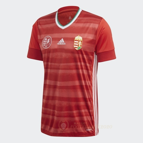 Maillot Foot Pas Cher Domicile Maillot Hungría 2020 Rouge