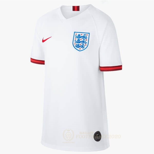 Maillot Foot Pas Cher Domicile Maillot Femme Angleterre 2019 Blanc