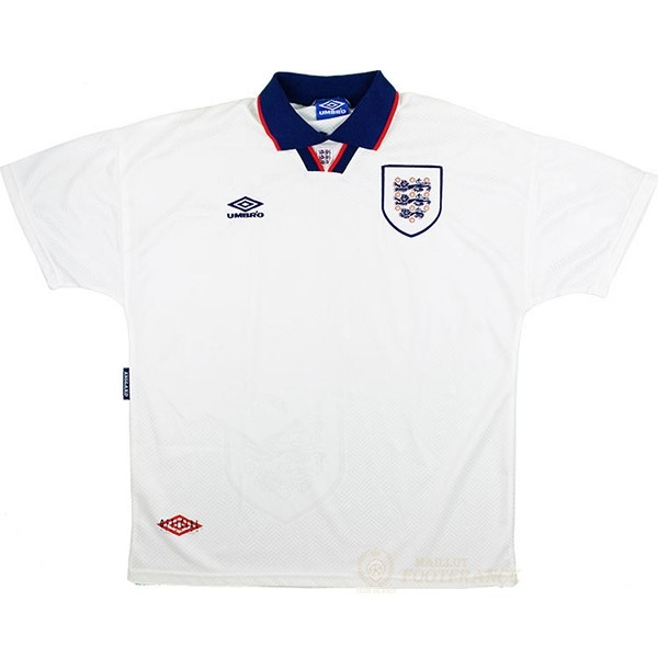 Maillot Foot Pas Cher Domicile Maillot Angleterre Rétro 1994 Blanc