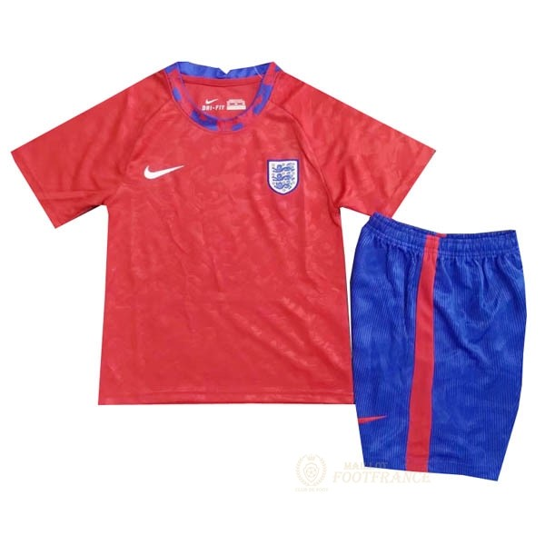 Maillot Foot Pas Cher Entrenamiento Conjunto Completo Angleterre 2020 Rouge