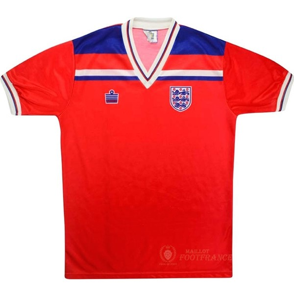 Maillot Foot Pas Cher Exterieur Maillot Angleterre Rétro 1980 Rouge