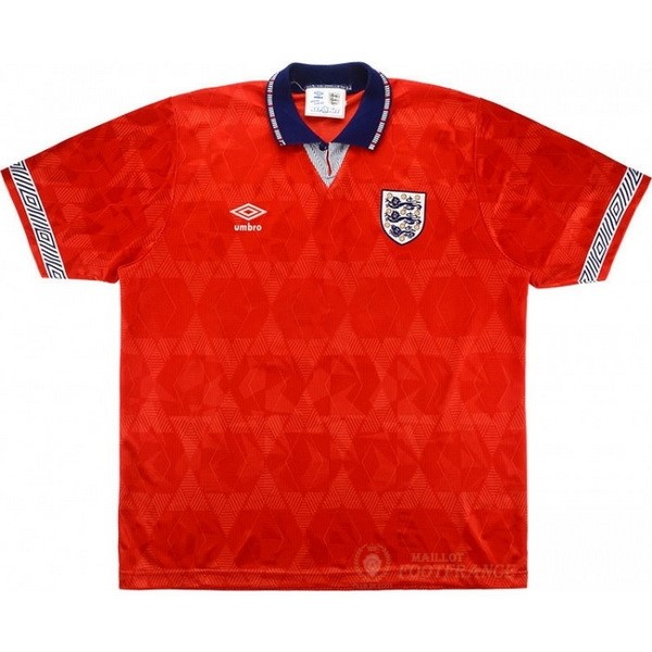 Maillot Foot Pas Cher Exterieur Maillot Angleterre Rétro 1990 Rouge