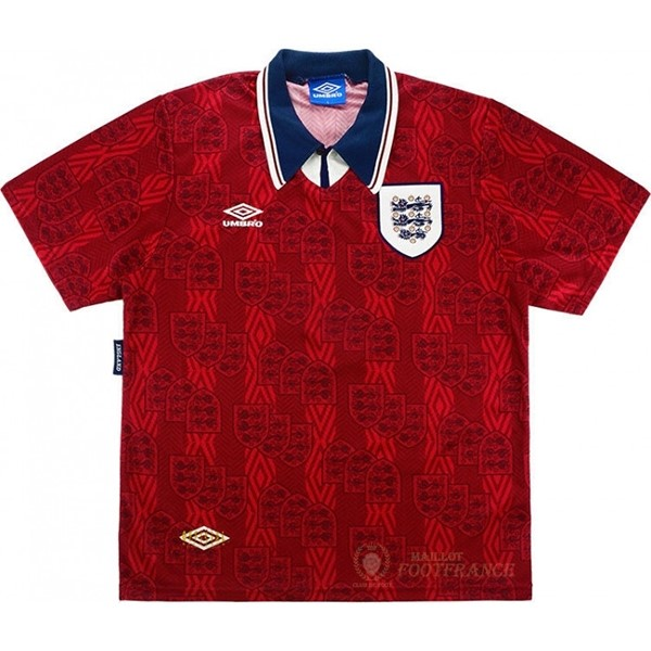 Maillot Foot Pas Cher Exterieur Maillot Angleterre Rétro 1994 Rouge