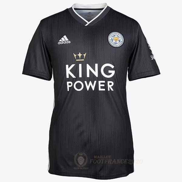Maillot Foot Pas Cher Thailande Third Maillot Leicester City 2019 2020 Noir