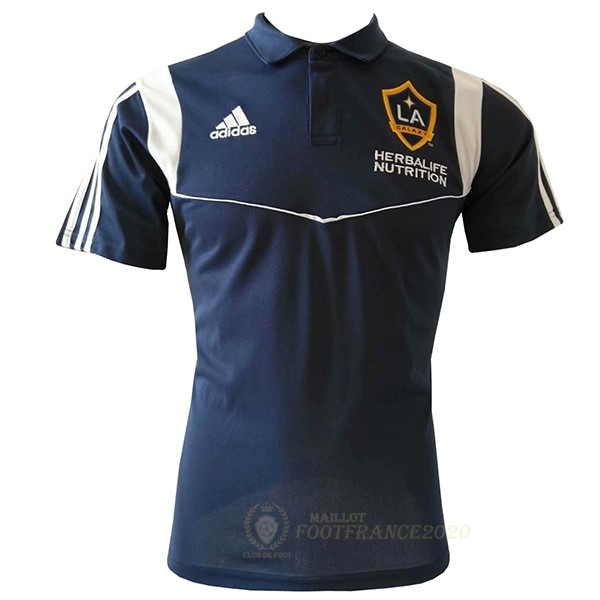 Maillot Foot Pas Cher Polo Los Angeles Galaxy 2019 2020 Bleu Marine