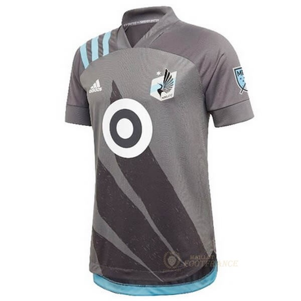 Maillot Foot Pas Cher Domicile Maillot Minnesota United 2020 2021 Gris