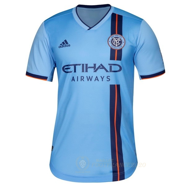 Maillot Foot Pas Cher Domicile Maillot New York City 2019 2020 Bleu