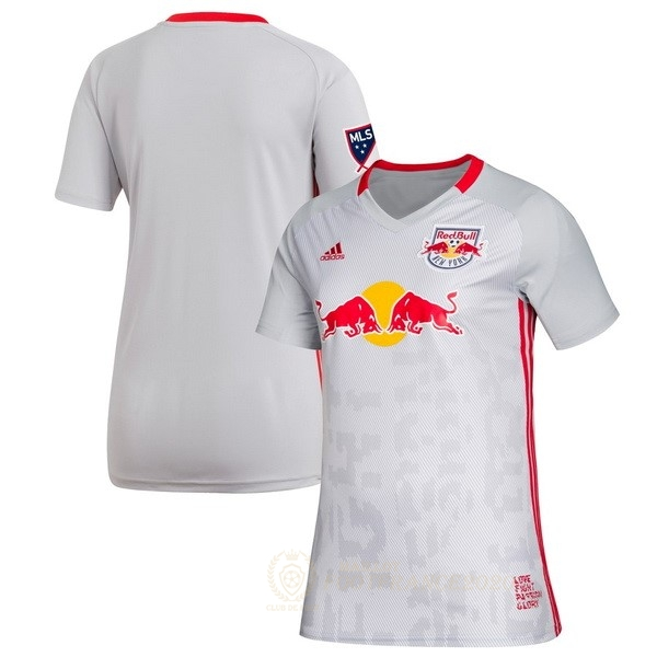 Maillot Foot Pas Cher Domicile Maillot Femme Red Bulls 2019 2020 Blanc