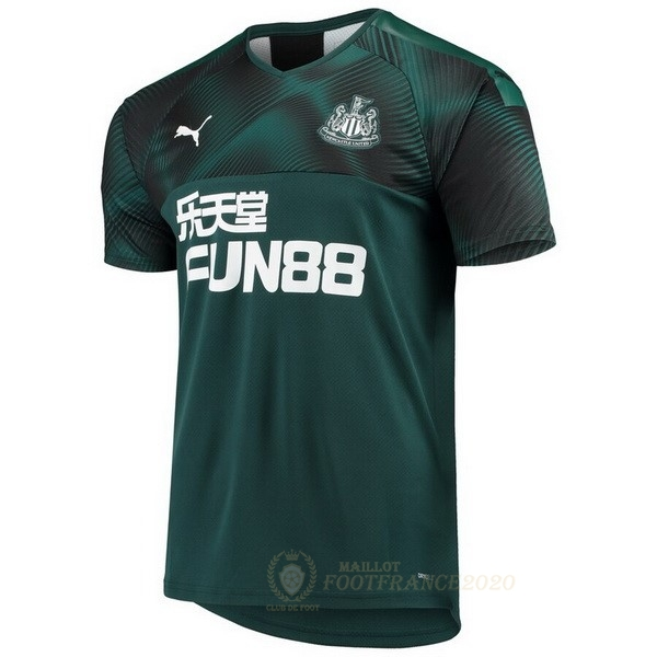Maillot Foot Pas Cher Exterieur Maillot Newcastle United 2019 2020 Vert