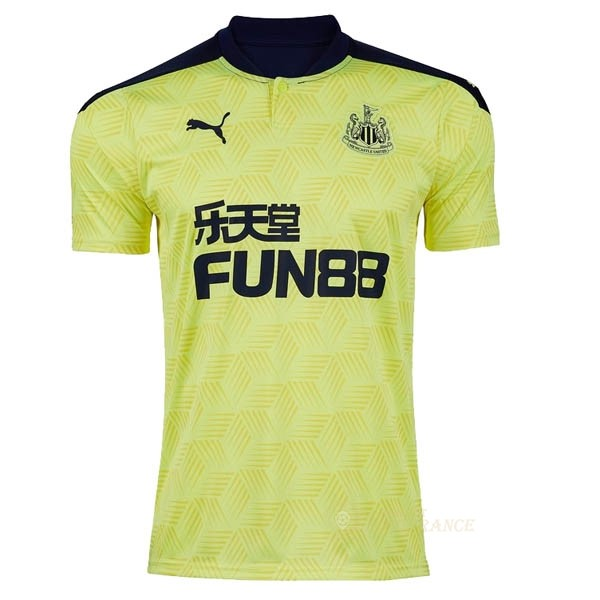 Maillot Foot Pas Cher Exterieur Maillot Newcastle United 2020 2021 Jaune