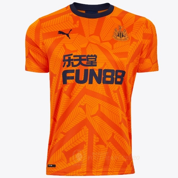 Maillot Foot Pas Cher Third Maillot Newcastle United 2019 2020 Orange