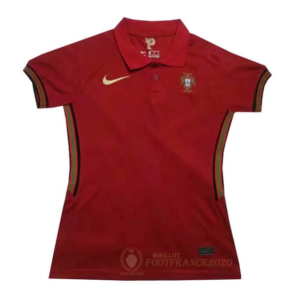 Maillot Foot Pas Cher Domicile Maillot Femme Portugal 2020 Rouge