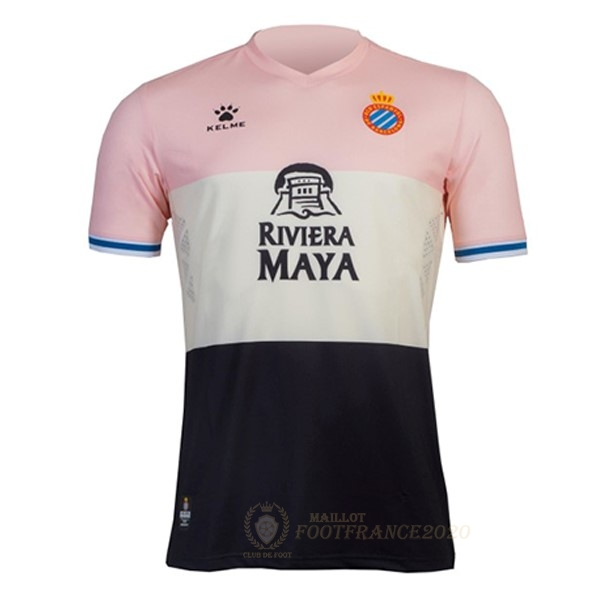 Maillot Foot Pas Cher Third Maillot RCD Espanyol 2019 2020 Rose