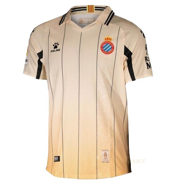 Maillot Foot Pas Cher Third Maillot RCD Espanyol 2020 2021 Jaune