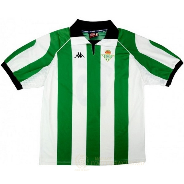 Maillot Foot Pas Cher Maillot Real Betis Retro 1998 1999 Vert